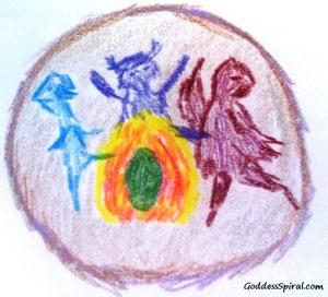 elementals dancing paola suarez goddess spiral